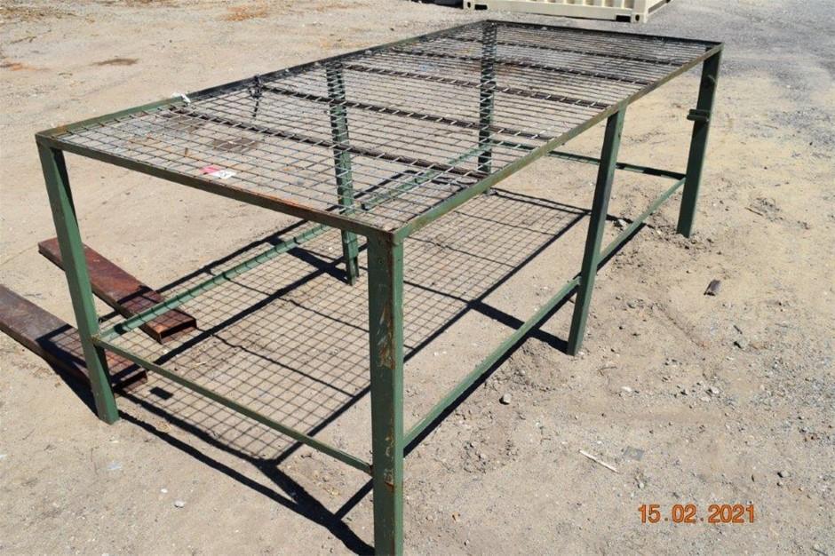 Steel Framed Vegetable / Plant Potting Bench