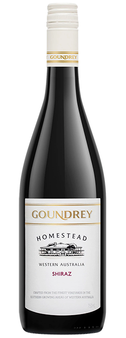 Goundrey `Homestead` Shiraz 2019 (6x 750mL), WA