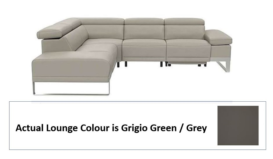 Nicoletti Azione Modular Lounge - 3 Seater With Left Hand Facing Chaise
