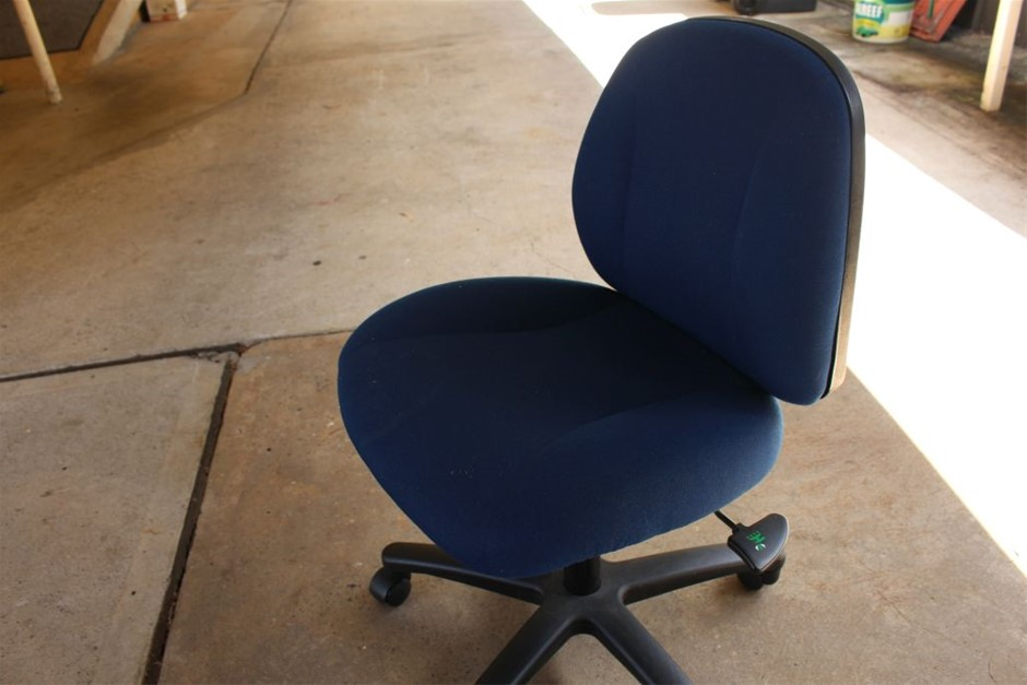 Office Chair blue in colour