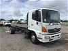 <p>2010 Hino  FD 4 x 2 Cab Chassis Truck</p>