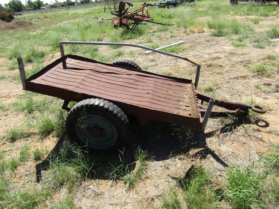 Vintage Jeep Trailer