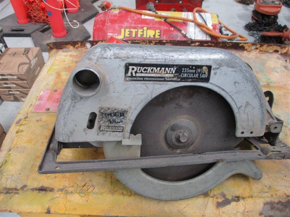 Rockman 235mm Electric Circular Saw