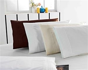 1200 TC Pillow Cases Chocolate x 2