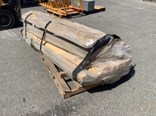 Pallet Containing Large Quantity of MDF Wood Strips8-6)