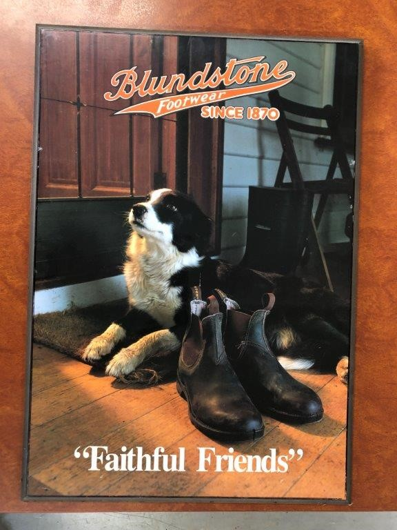 Authentic BLUNDSTONE Footwear Sign