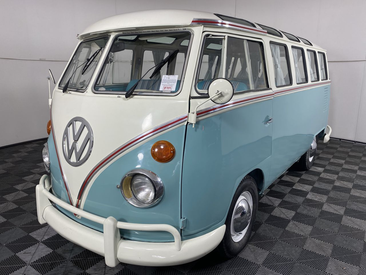 1972 Volkswagen Samba VW Kombi Manual Van