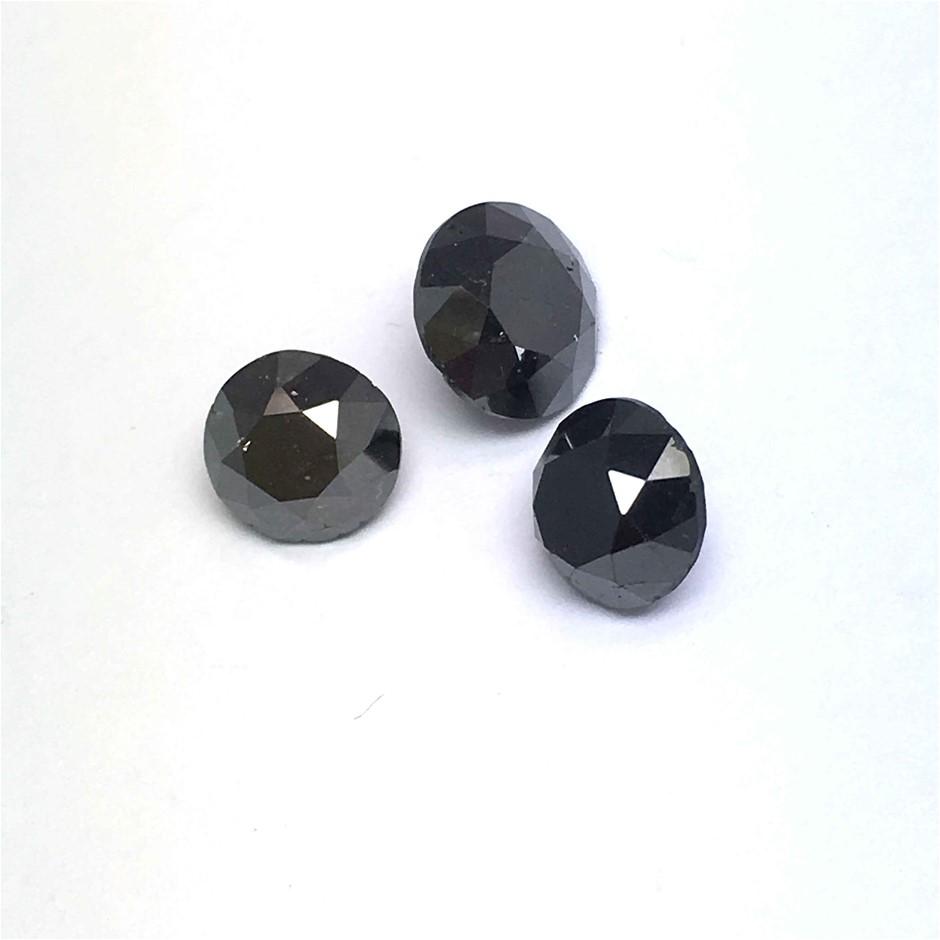 Three Loose Diamond, 4.69ct in Total
