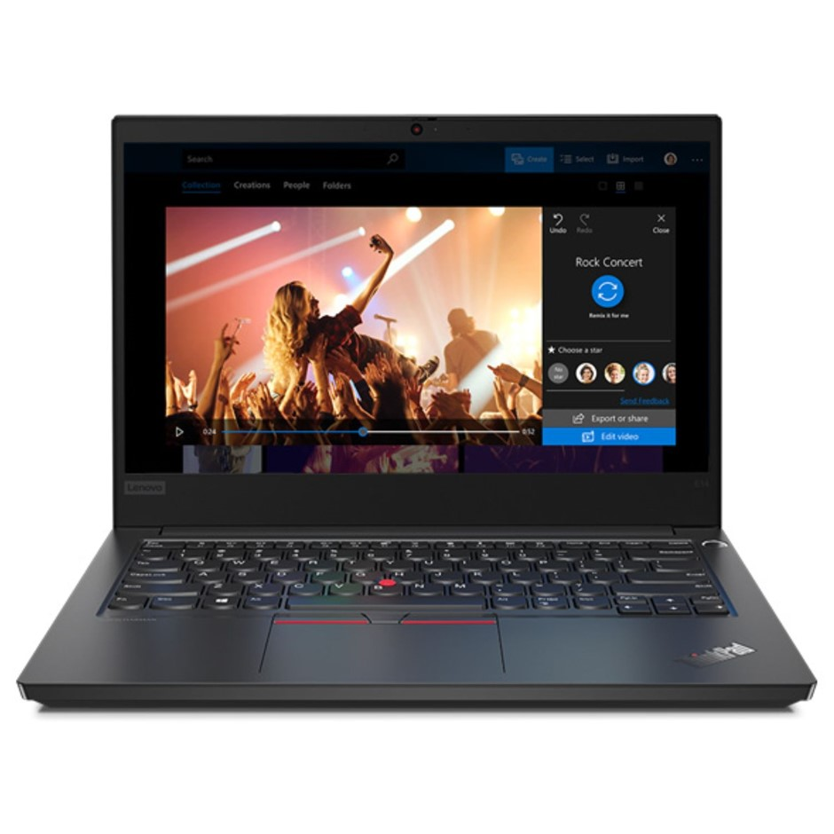 Lenovo ThinkPad E14 14-inch Notebook, Black