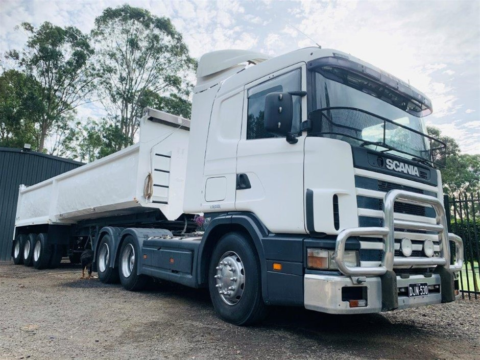 1985 Southern Star ST885 Triaxle Tipper Trailer