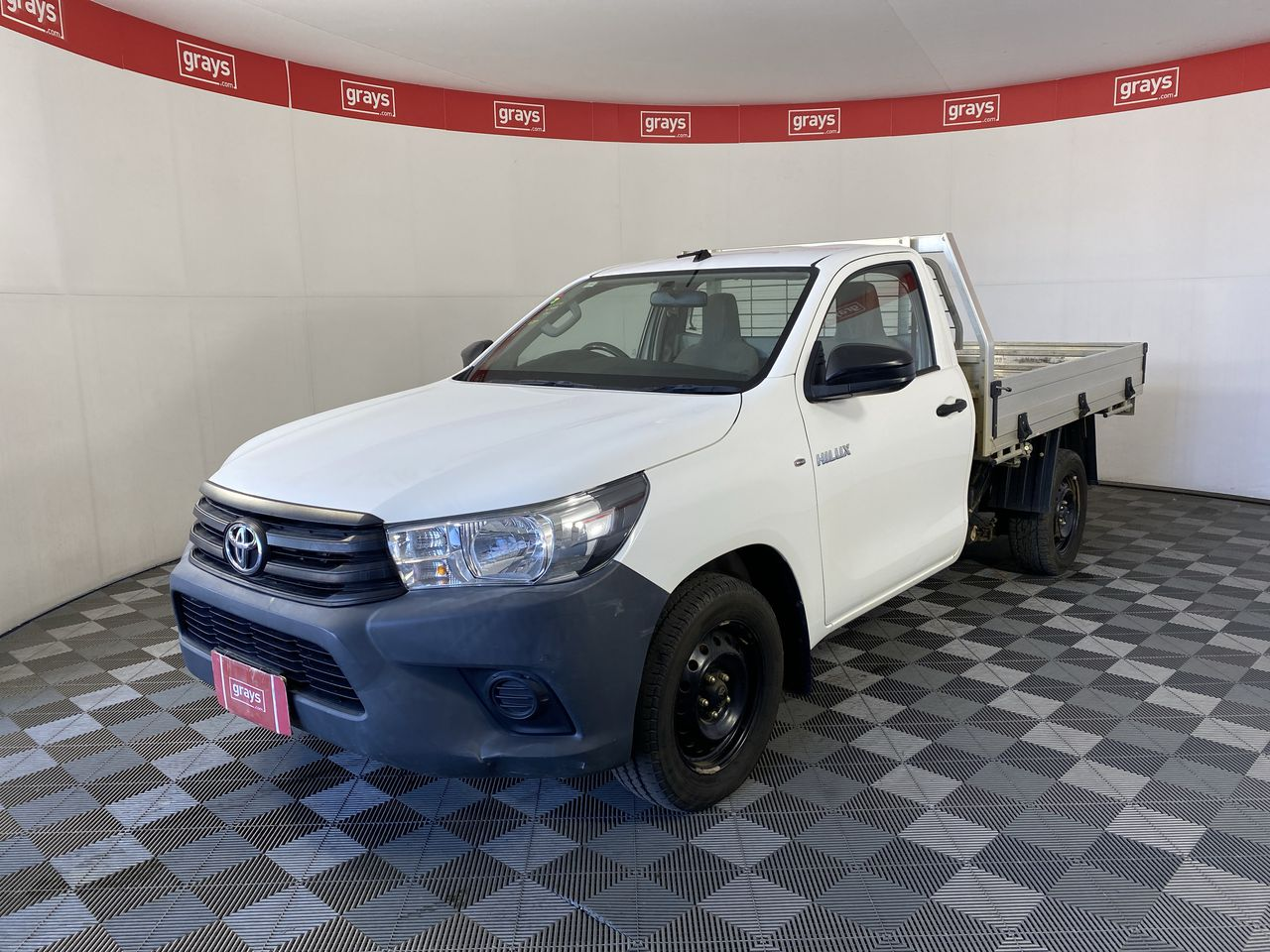 2015 Toyota Hilux Workmate GUN122R Turbo Diesel Manual Cab Chassis