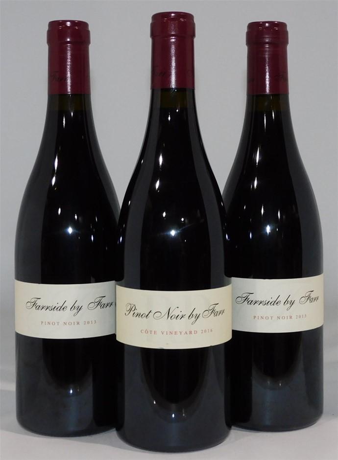 Mixed By Farr Pinot Noir Pack (3x 750mL), Geelong. Cork.
