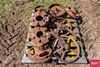 1 x Pallet Of Used Vintage Tractor Spares