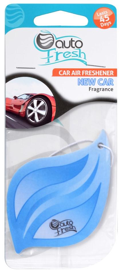 Carton of 288 x Car Air Freshener Carded New Car Autofresh