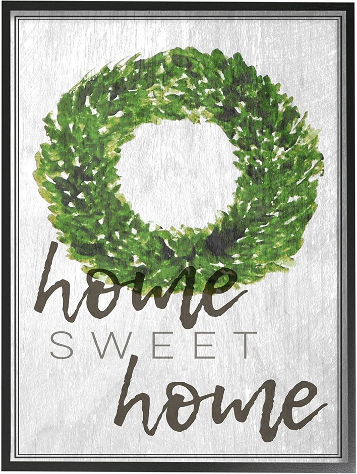 THE STUPELL HOME DÉCOR COLLECTION Home Sweet Home Framed Giclee Wall Art, 2