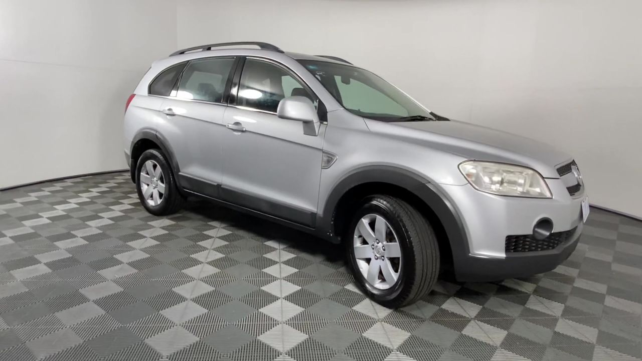 2009 Holden Captiva CX (4x4) CG Turbo Diesel Automatic 7 Seats Wagon