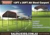 2021 Unused 12ft x 20ft Steel Carport