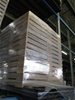 Pallet of Wooden Starch Mogul Boxes