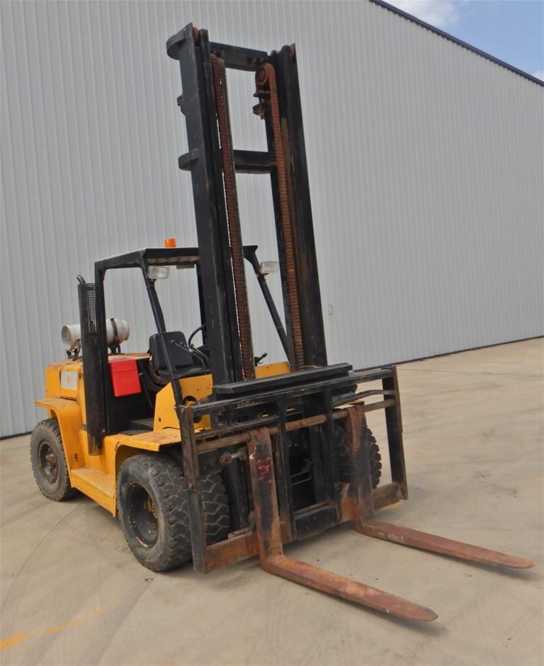 Hyster H7.00XL 4 Wheel Counterbalance Forklift (Pooraka, SA)