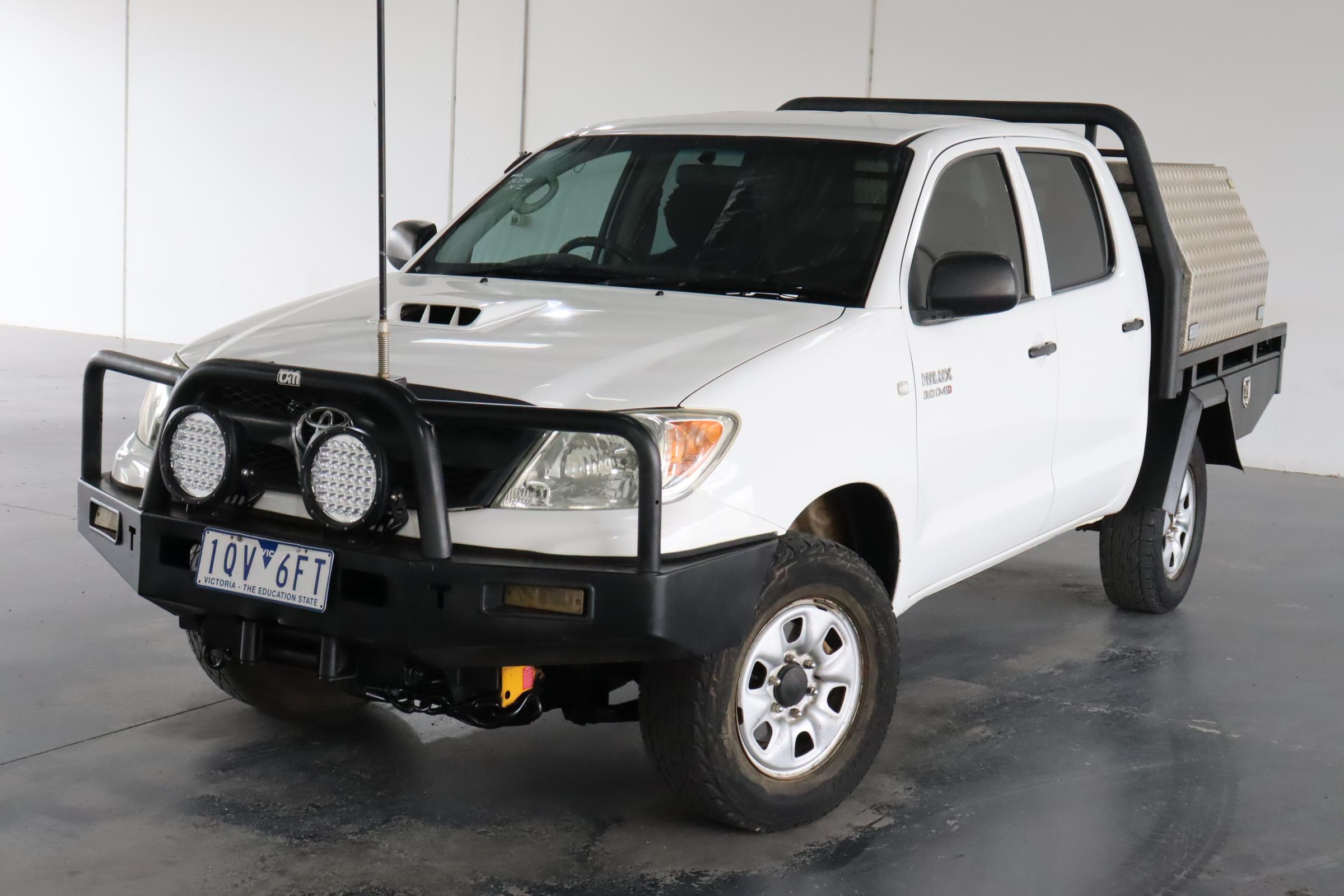 2006 Toyota Hilux SR (4x4) KUN26R Turbo Diesel Manual Dual Cab