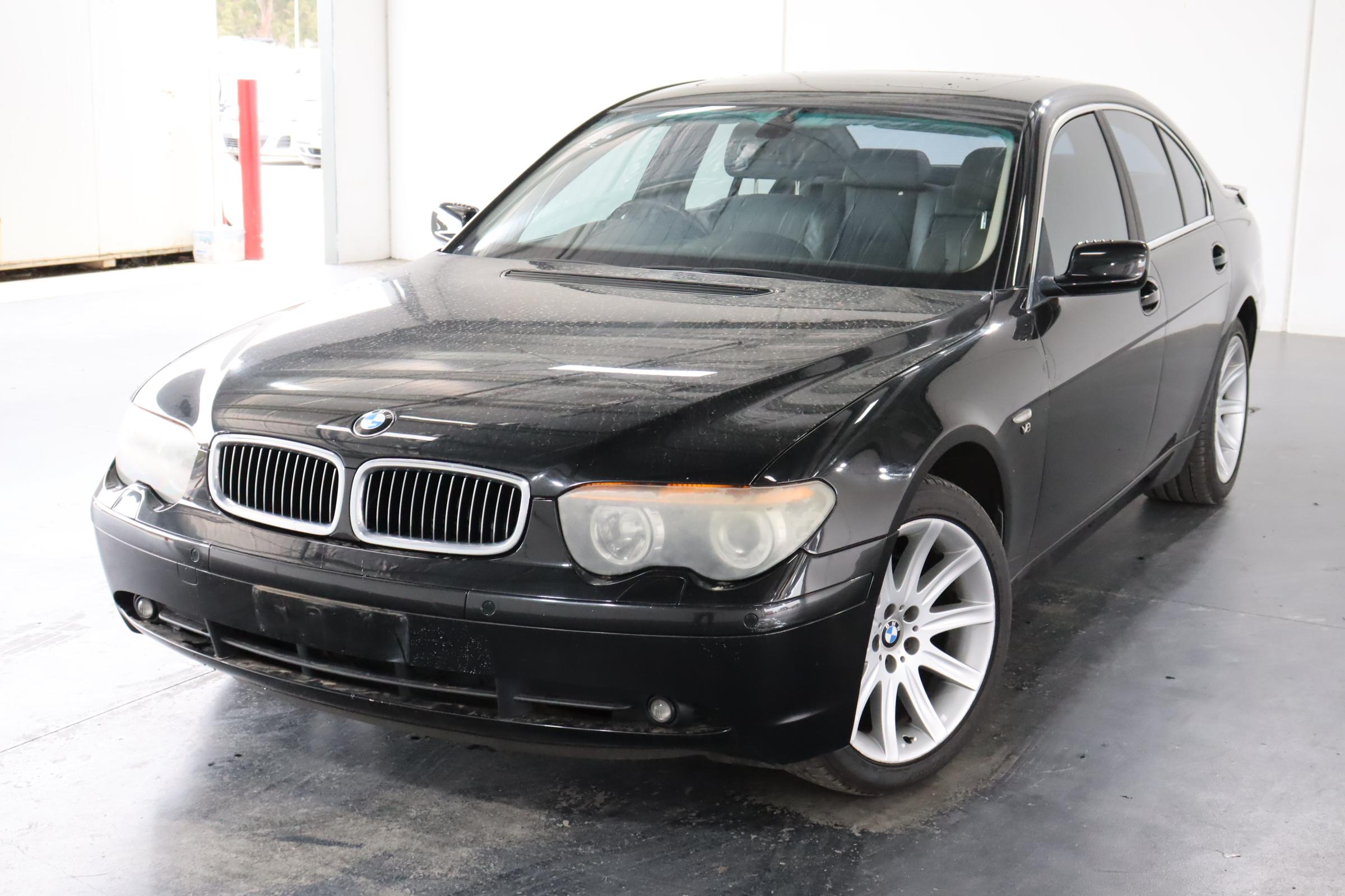 2002 BMW 7 35i E65 Automatic Sedan