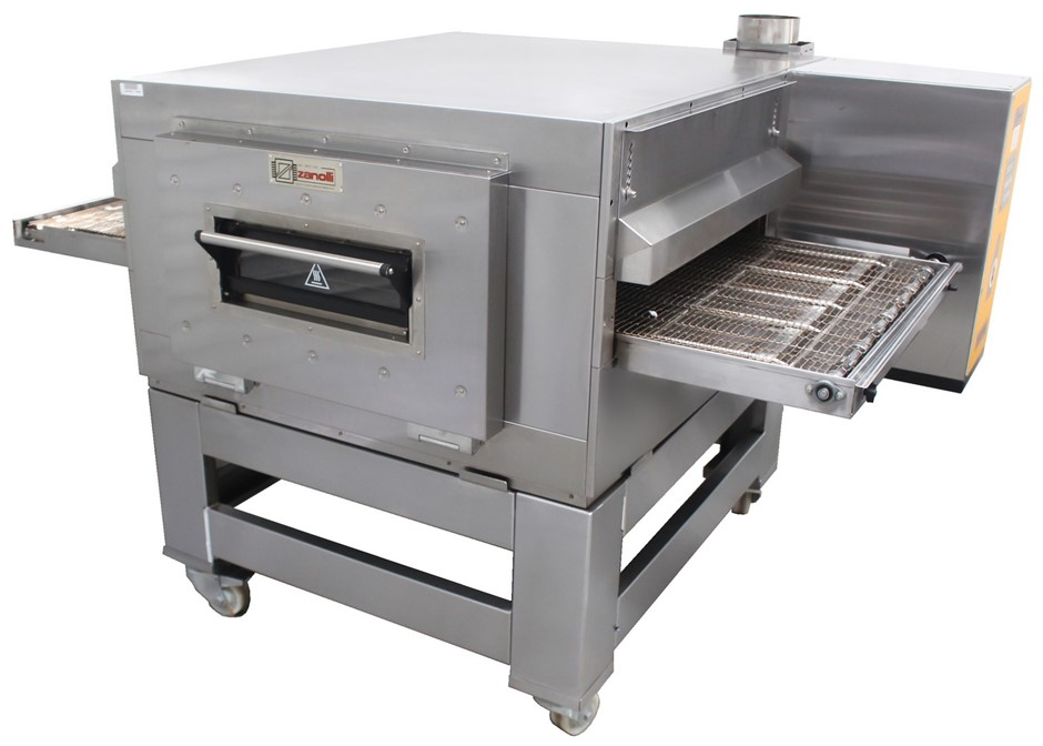 ZANOLLI SYNTHESIS GAS MODULAR CONVEYOR PIZZA OVEN