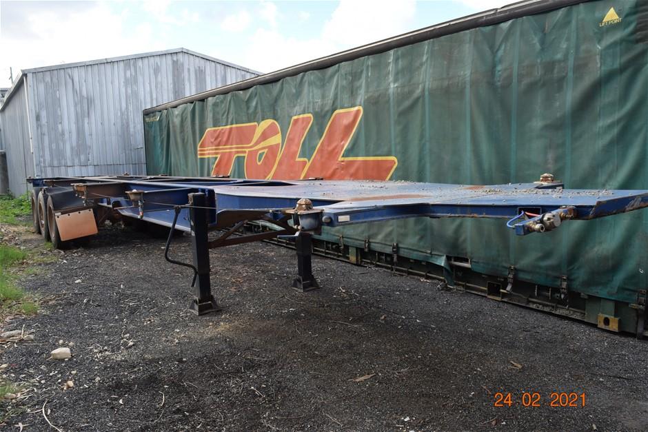 """12/2006 """"TCA"""" 45' Tri Axle Skel Trailer"""
