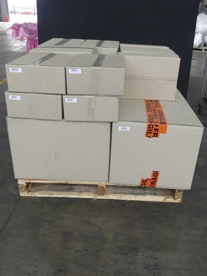 Pallet of Assorted USED/UNTESTED Lenovo Laptops and Desktops