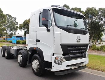 Unused 2018 A7 Sino 8x4 Cab Chassis