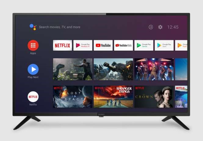 OKANO 32-inch HD Android TV with Google Assistant & WiFi (NEW)