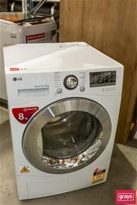 LG TD-C80NPW Front Load Dryer