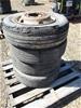 Qty 4 x Low Loader Wheels