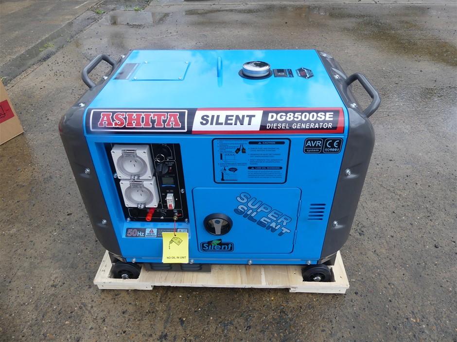 Unused Ashita DG8500SE3 Silent Generator