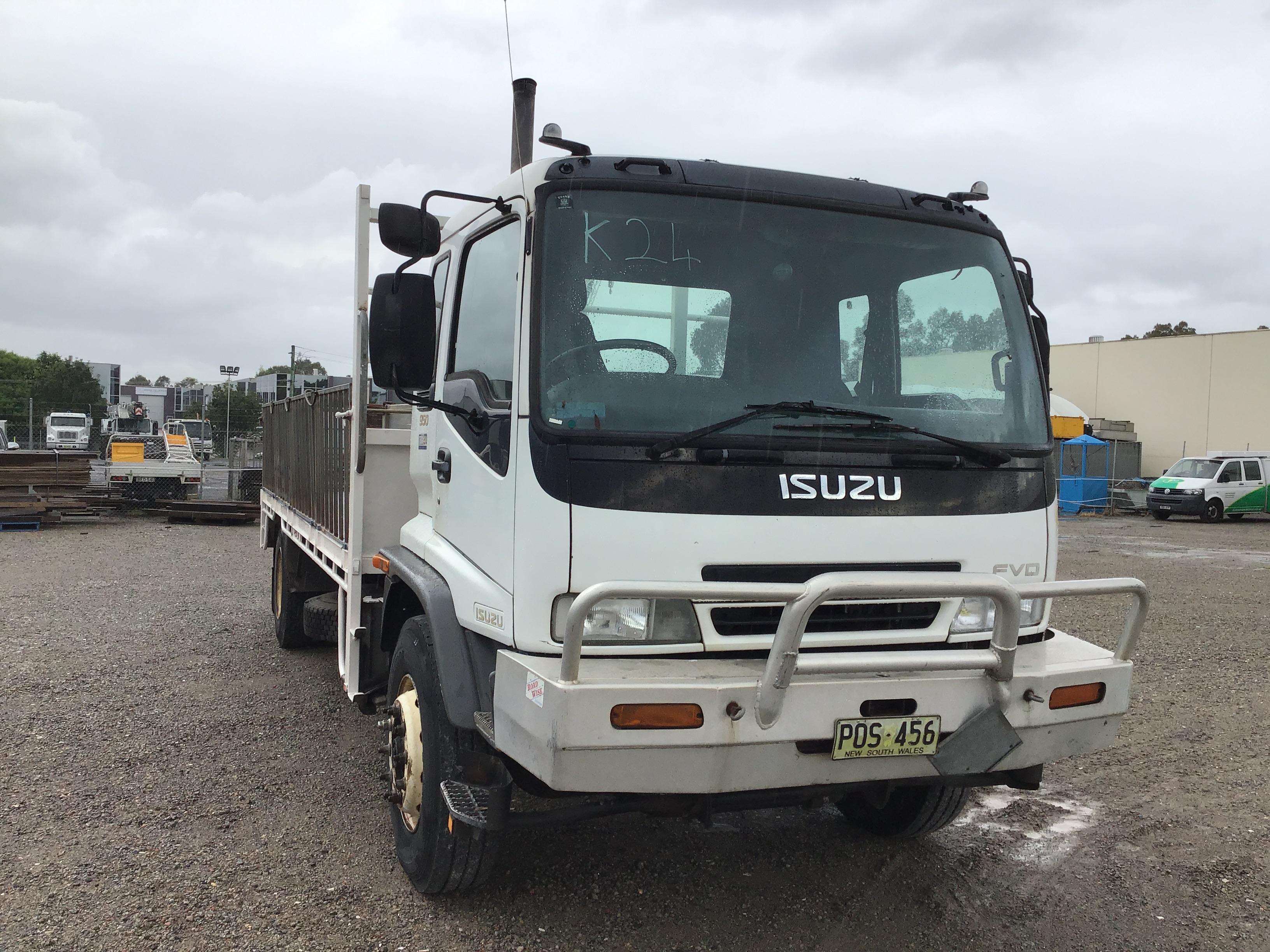 2001 ISUZU FVD950 Sitec 295 4 x 2 Tray Body Truck