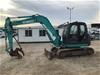 <p>Kobelco SK80MSR-1E Hydraulic Excavator</p>