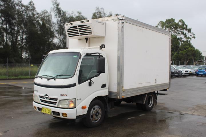 2010 (Comp) Hino 300 Automatic Refrigerator Truck