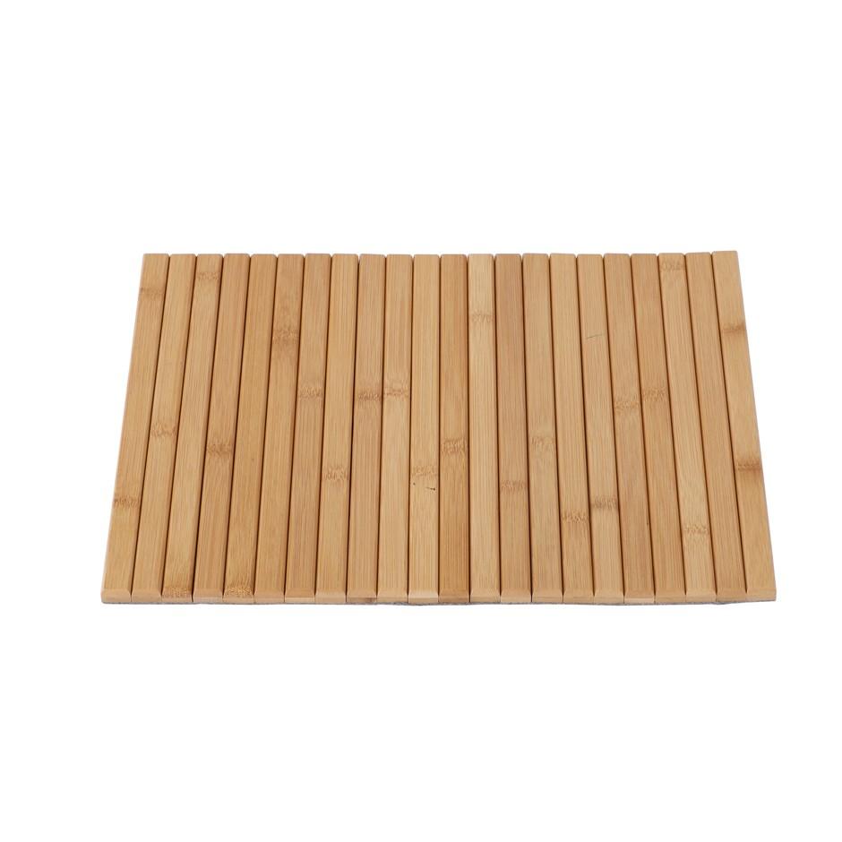 Sherwood Home Flexible Bamboo Sofa Armrest Tray 42x33.5x1.2cm