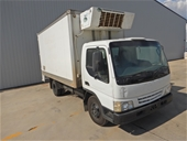 2001 Mazda  T4600D 4 x 2 Refrigerated Body Truck