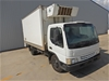 <p>2001 Mazda  T4600D 4 x 2 Refrigerated Body Truck</p>