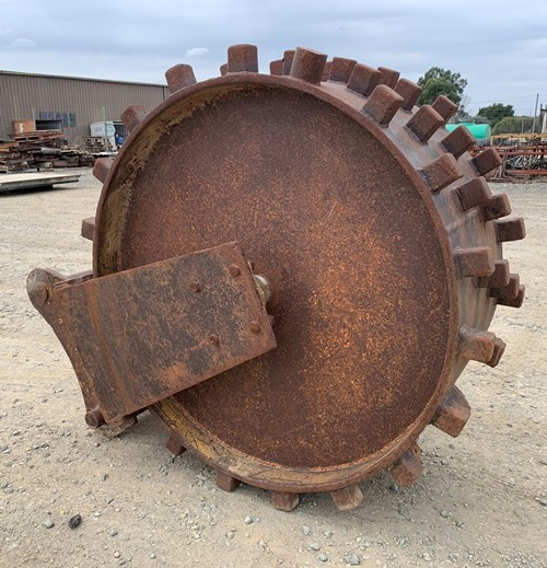 Compaction Wheel - needs repairing