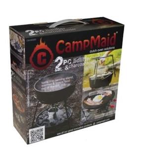 CampMaid Dutch Oven 2pc Multi-Tool & Cha
