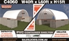 2021 Unused Heavy Duty 40t x 60ft Container Shelter