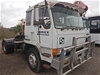 <p>Mitsubishi  FP418F 4 x 2 Prime Mover Truck (Pooraka, SA)</p>