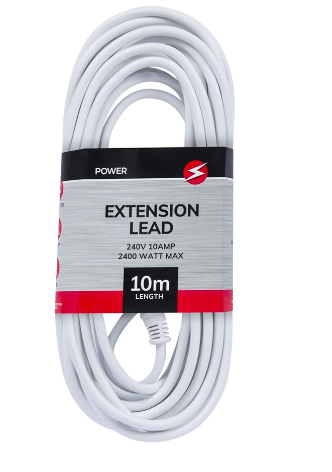 Power Extension Lead Standard Australian 240V 3-Pin Plug Cord Cable 10M SAA