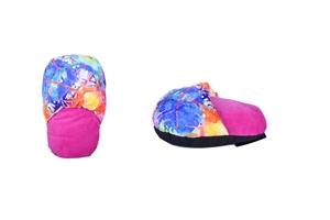 Jumbo Foot Warmer Shoes Feet Pink Dye So