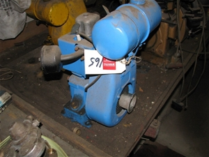 Stationery engine, Villiers 5HP, single cylinder, 4 stroke, petrol, pull st