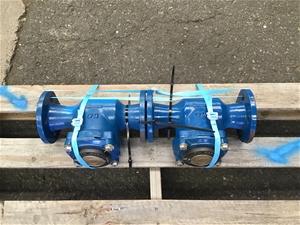 Qty 2 x DN50 Flow Meter