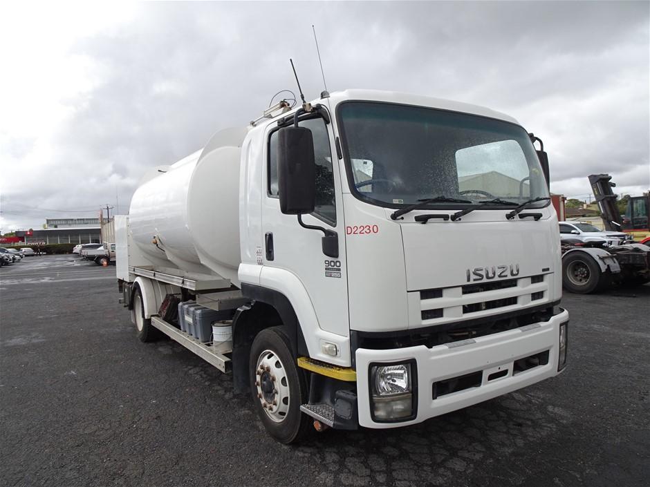 2008 Isusu 900 Long Tanker Truck (Mt Gambier, SA)