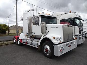 2012 Western Star 9864 GFX Prime Mover