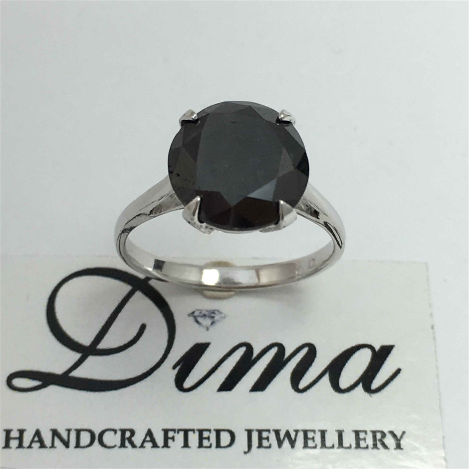9ct White Gold, 4.75ct Diamond Ring